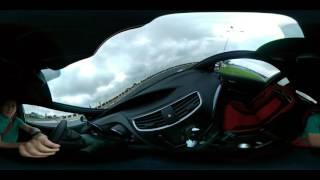 Honda Civic Type-R pe circuitul ATA - VIDEO 360
