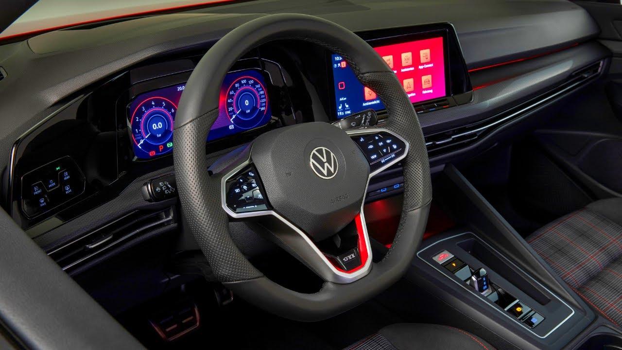 2021 volkswagen golf gti interior depth look 2021 vw golf gti