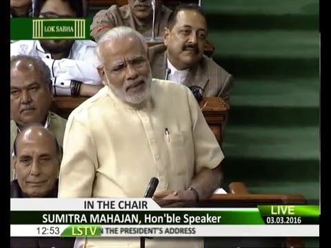 PM Modi's reply to Motion of thanks to President's Address in Lok Sabha