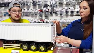 Building a Tamiya 1/14 scale Trailer at Amazing RC store