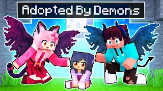 Adopted By DEMONS In Minecraft!