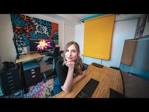 TINY OFFICE TOUR - 99 Square Foot PHOTOGRAPHY STUDIO In TORONTO