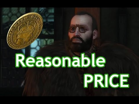 The Witcher 3: Wild Hunt - Haggle like a boss