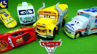 disney cars 3 toys demolition derby thunder hollow speedway miss fritter lightning mcqueen cruz toys