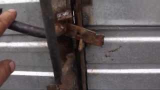 самодельные петли  на ворота