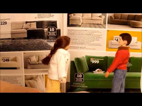 Contemporary Dollhouse Furniture by Smallhouse Models