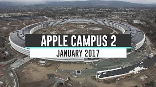 APPLE CAMPUS 2 January 2017 Construction Update 4K