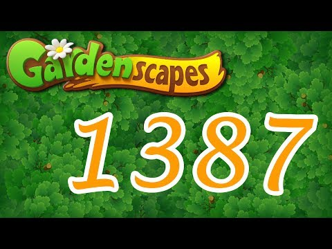 Gardenscapes level 1387