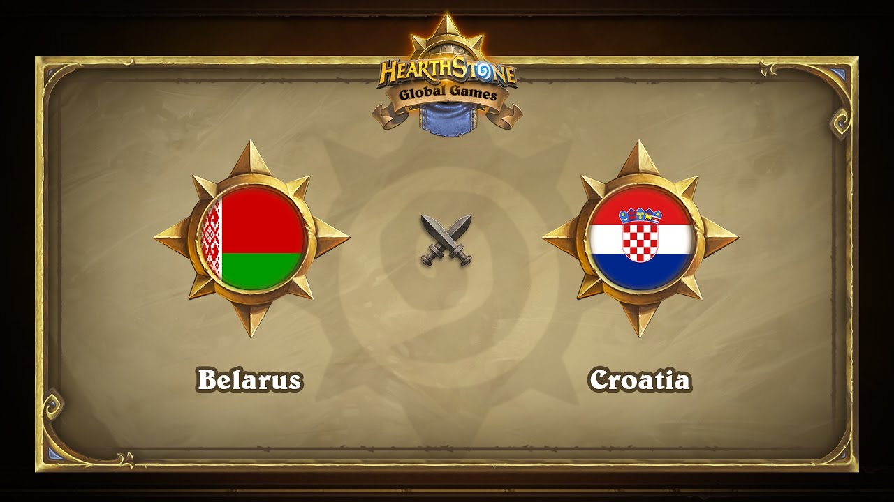 Беларусь vs Хорватия | Belarus vs Croatia | Hearthstone Global Games (23.05.2017)
