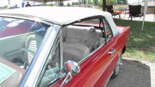 1965 Ford Mustang Conv - Woodward Dream Cruise 2012