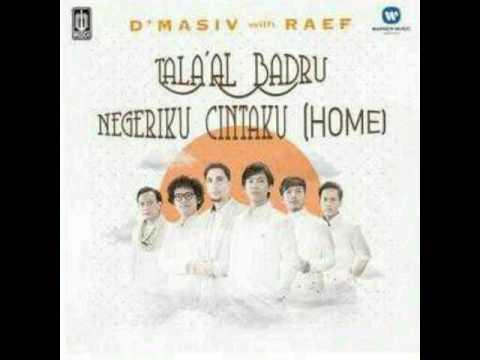 D'masiv - Tala'al  Badru ( Feat Raef ) - Lyric