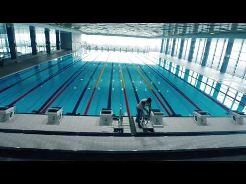 Indoor Pool - Hallenbad Buchholz Sports Centre (Uster, Switzerland)