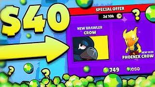 THIS IS $40.00!?!? in BRAWL STARS
