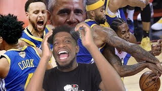 THIS SERIES IS OVER NOW!! WARRIORS vs RAPTORS NBA FINALS GAME 2 HIGHLIGHTS