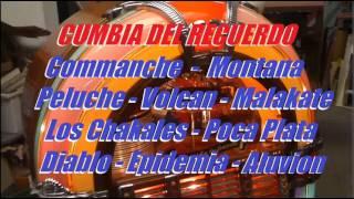 Los Chakales Comanche Montana Volcan Peluche Diablo Malakate Enganchado Cumbia del Recuerdo