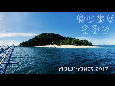 Philippines 2017 GoPro I 4K I Adventure I Backpacking I Surfing I Bohol I Coron I Siargao
