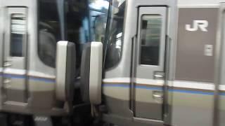 JR西日本 223系2000番台 普通 姫路行き 膳所駅 20181102
