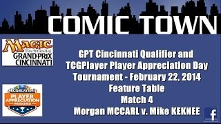 MTG: GPT Cincinnati/TCGPlayer Appreciation Day Tournament - Match 4