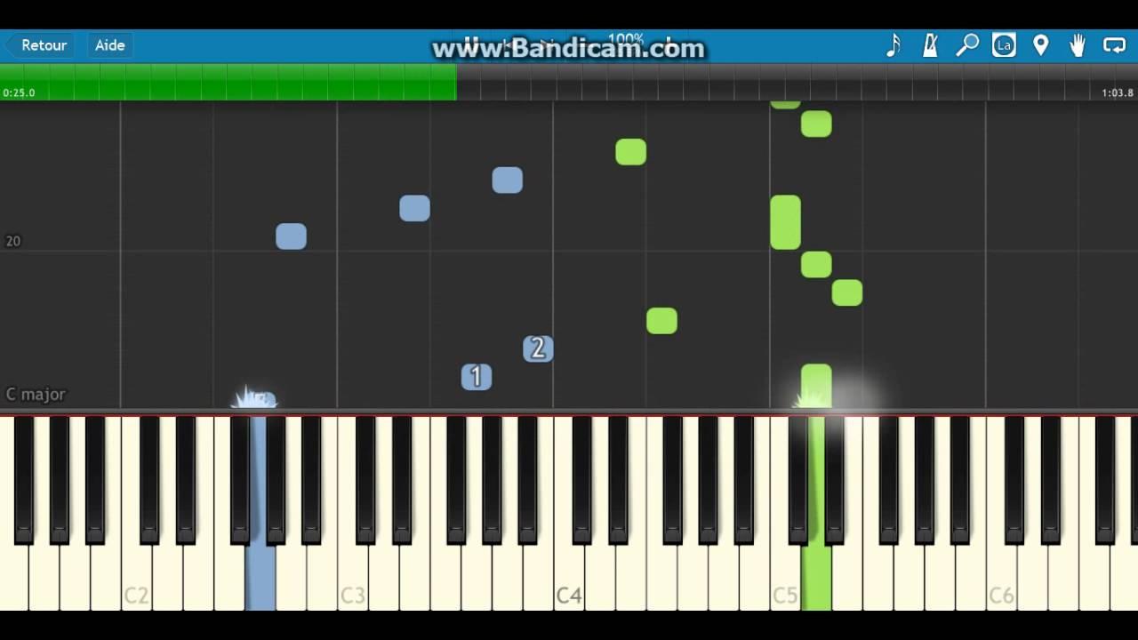 Très apprendre lettre à elise 1ere partie piano - YouTube BD93