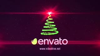 After Effects Template: Christmas Tree Logo