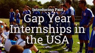 Gap Year - Paid Internship Coaching Football In The USA