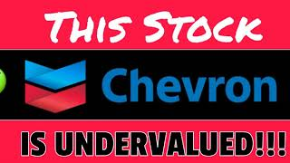 The BEST Undervalued Stock for Dividend/Value Investors - Chevron Commodity Stock