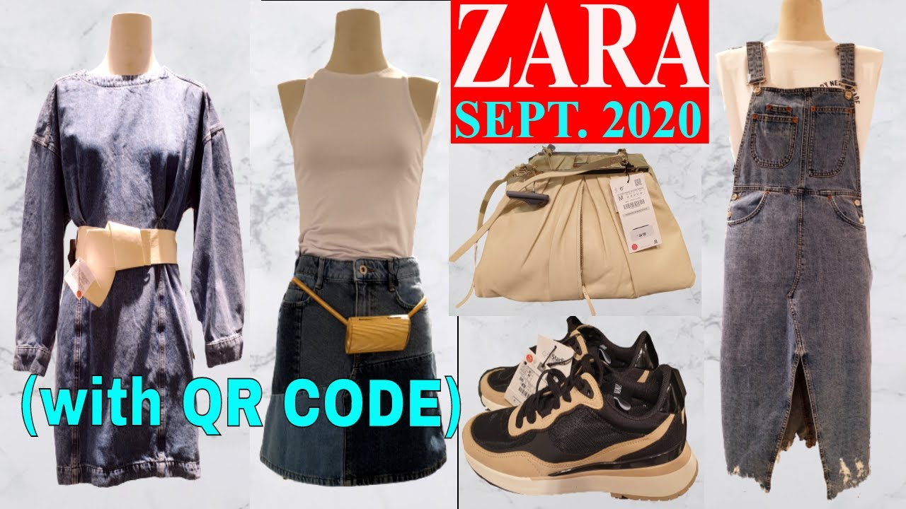 New In Zara September 2020 With Qr Code Prices Zara Virtual Shopping Guide Youtube