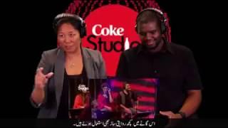 Americans react on Pakistani songs!
