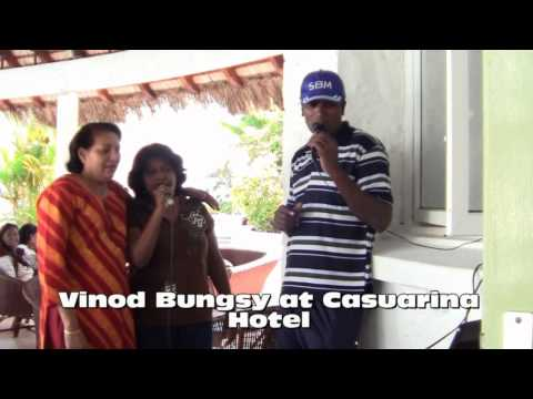 Vinod Bungsy at Casuarina Hotel for karaoke