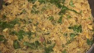 Egg Semiya / Egg Rice Noodles / Egg Vermicelli