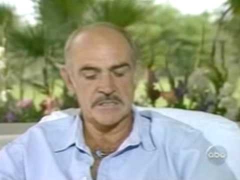 Sean Connery  discusses women slapping