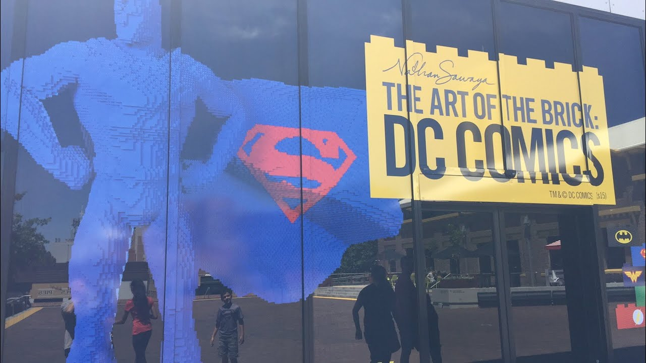 """ Art Of Brick Dc Comics"" Exhibition"