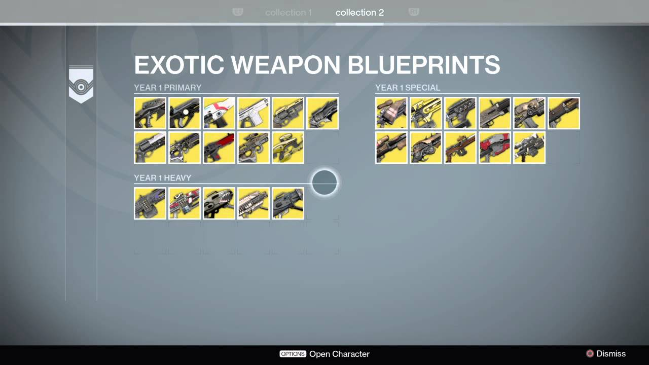 Destiny completed exotic blueprints youtube destiny completed exotic blueprints malvernweather Image collections