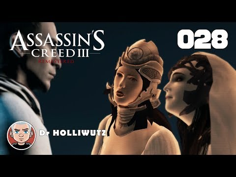 Assassin's Creed III #028 - Minerva vs. Juno [PS4] | Let's play AC3 remastered