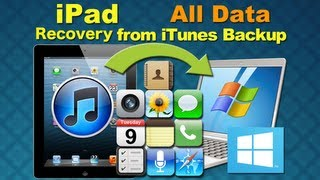 Dr.Fone for iPad 5: How to Recover Any Lost Data from iPad 5/4/3/2/1 iTunes Backup