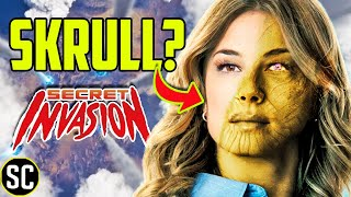 SHARON CARTER a SKRULL? | SECRET INVASION Connection EXPLAINED | Marvel Theory
