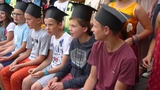 Prinsenhof juni 2014: 6de leerjaar afscheidsliedje