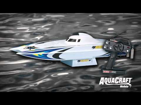 Spotlight: AquaCraft® Models Wildcat™ Brushless 2.4GHz RTR