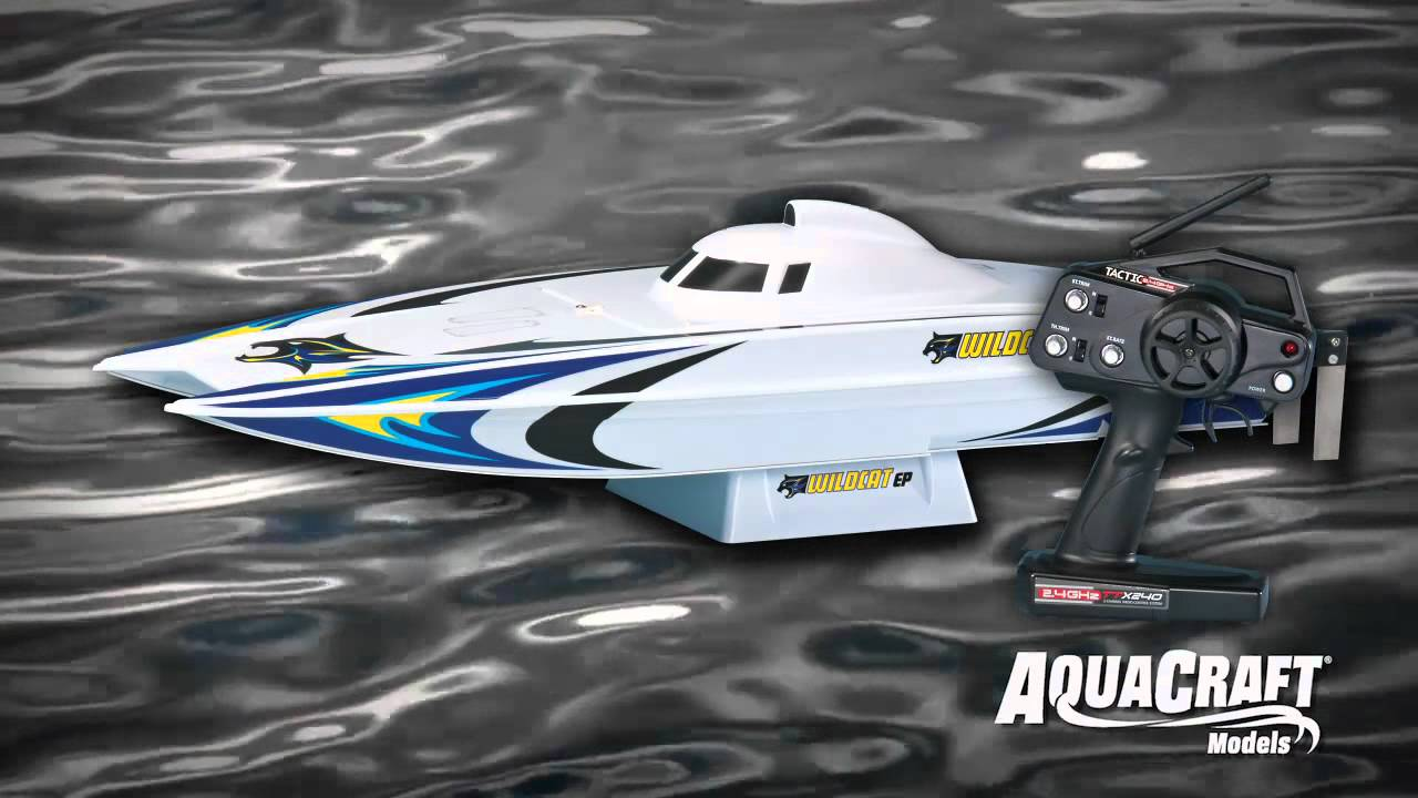 Spotlight: AquaCraft® Models Wildcat™ Brushless 2.4GHz RTR