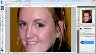 Photoshop - Red Eye Tool (Norwegian)
