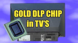 gold dlp chip