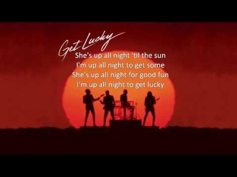 Daft Punk - Get Lucky [Official Lyrics] Radio Edit
