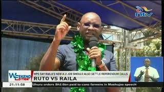 DP William Ruto allies tell Raila Odinga to set aside presidential ambitions
