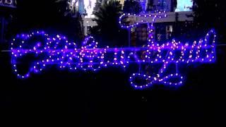 видео Надпись С Новым Годом, световое панно С Новым Годом, купить светодиодную надпись С Новым Годом, вывески из дюралайта С Новым Годом