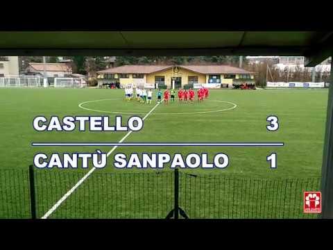 Prima Categoria - Castello vs Cantù Sanpaolo