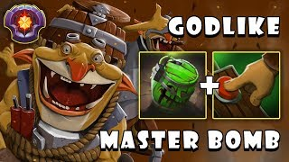 This Is How Master Level Spammer Techies Destroyed Hard Carry AM with GODLIKE FullGame Dota 2 7.21c