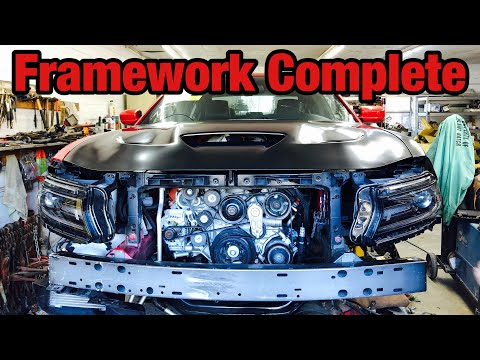 Rebuilding a Wrecked 2016 Dodge Hellcat Part 7