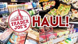 TRADER JOES HAUL + SHOP WITH ME 🛒 NEW ITEMS AND OLD FAVORITES!