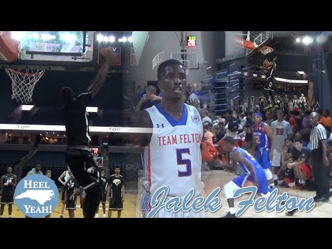 Jalek Felton UNC Tar Heels Freshman Guard High School Highlight Compilation Over The Years