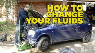 How To Change Your Cars Fluids